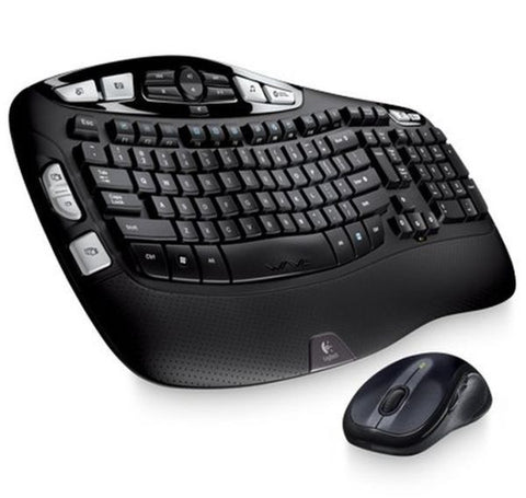 Logitech Mk550 Wireless Wave Keyboard & Mouse