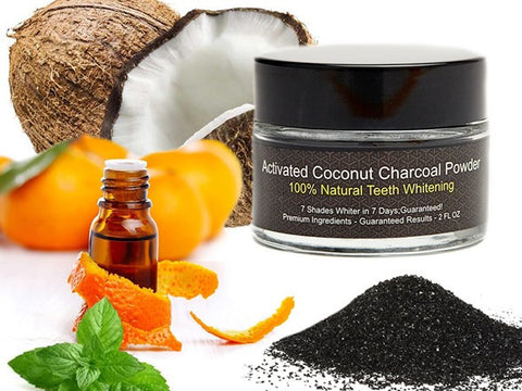 Activated Charcoal Coconut Teeth Whitener