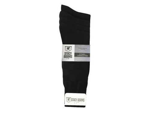 Stacy Adams 12-Pack Classic Black Socks - MCTTC TECH STORES