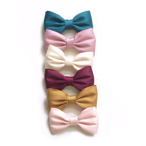 Sateen Bow Headband