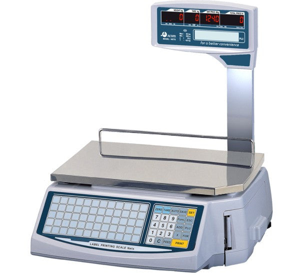 ACOM NETS NS 15 Scale Label Printer