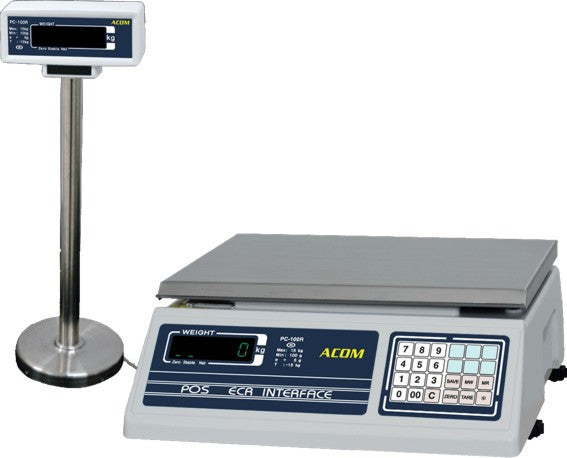 ACOM PC-POS Weight Only Scale