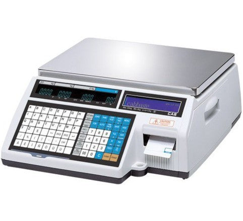CAS CL 5000 Label & Ticket Printing Scale