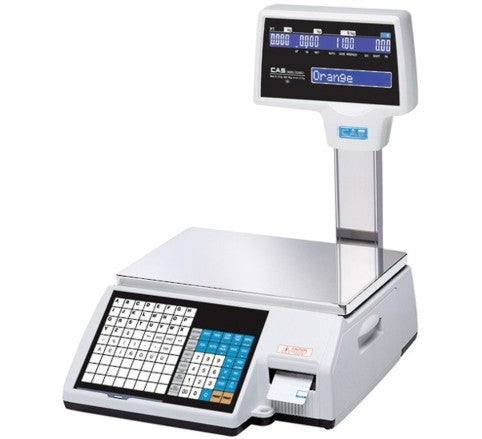 CAS CL 5000J Label Printing Scale