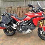 SIDE PANNIER BAGS FOR DUCATI MULTISTRADA 1200