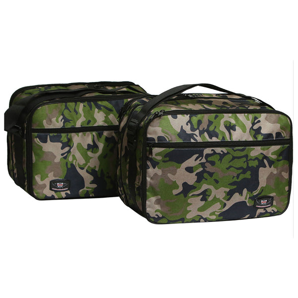 Pannier Liner Inner Bag Pair to fit BMW Bikes R1200GS  F800GS VARIO Camouflage
