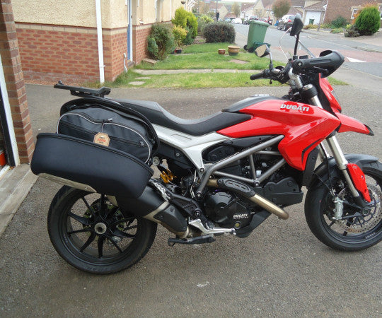 SIDE PANNIER BAGS FOR DUCATI HYPERSTRADA
