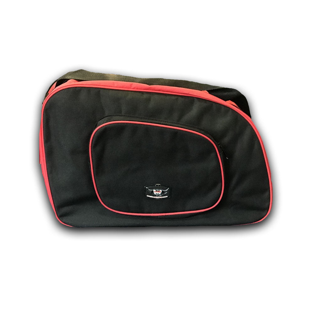 Bmw R100 Pannier Liner Bags Black/Red