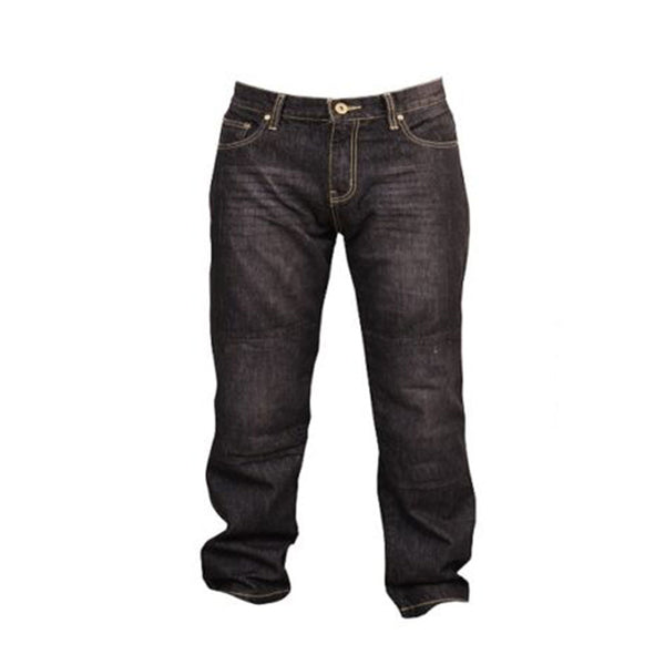Mens Biker Denim Jeans with Aramid Protective lining