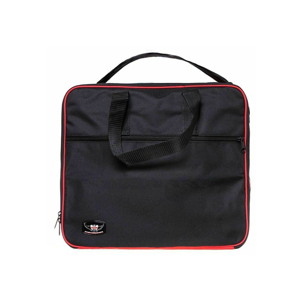 Pannier Liner Bags to fit Triumph Expedition Aluminium (Red/Black)