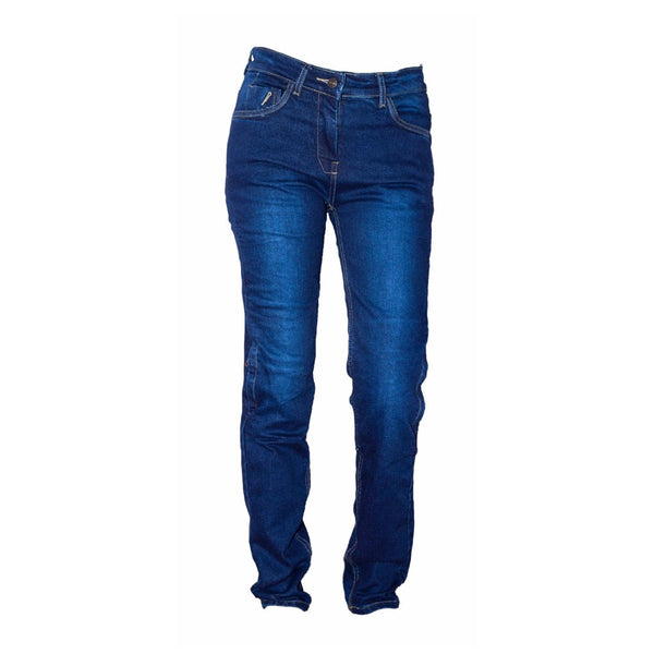 Men Motorcycle Jeans Pants with Protective Cover OX BLUE