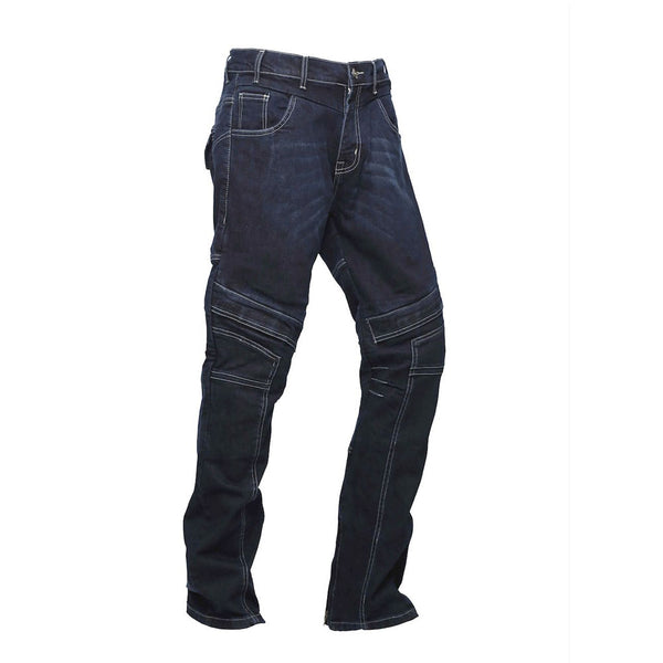 GBG Metro Blue Biker Jeans Slim Fit