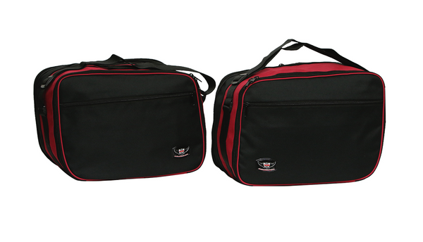 BMW R1200RT Pannier Liner Inner Bags Red/Black