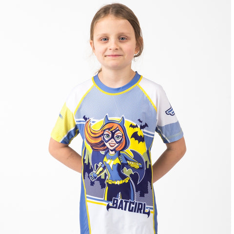 Batgirl Short Sleeve Rash guard