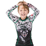 Kids Joker Long sleeve Rash Guard