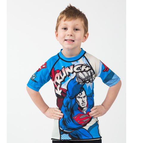 Superman Krunch Short Sleeve Rash guard