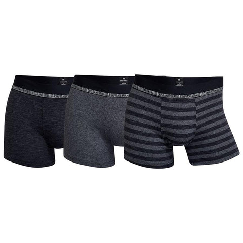 CR7 Mens Bamboo 3 pack -Grey