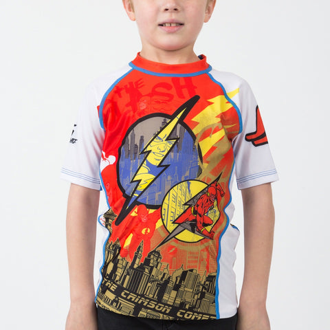 The Flash Short Sleeve Rash guard