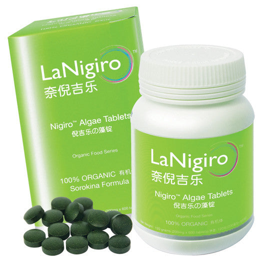 Scientific Study - Nigiro™ Algae Tablet