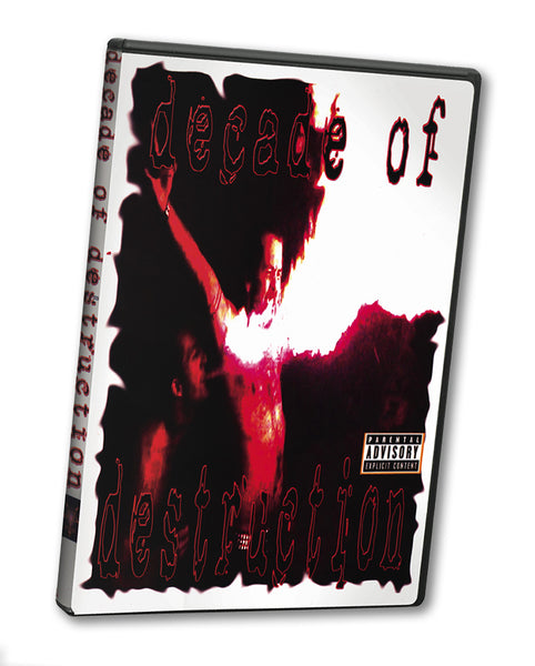 DECADE OF DESTRUCTION DVD