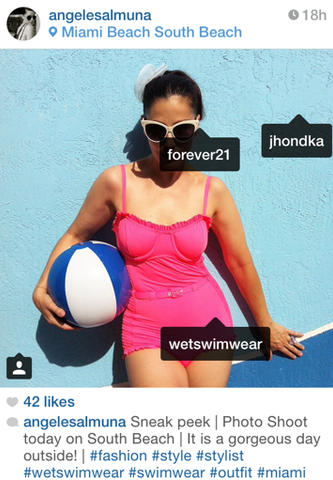 WETSwimwear on angelesalmuna Instagram