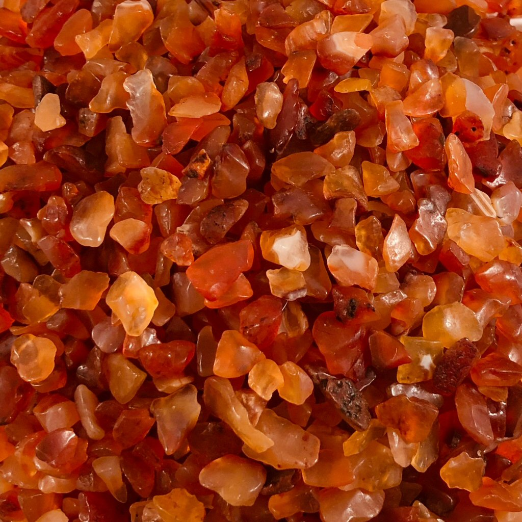 Crystal Chips- Carnelian