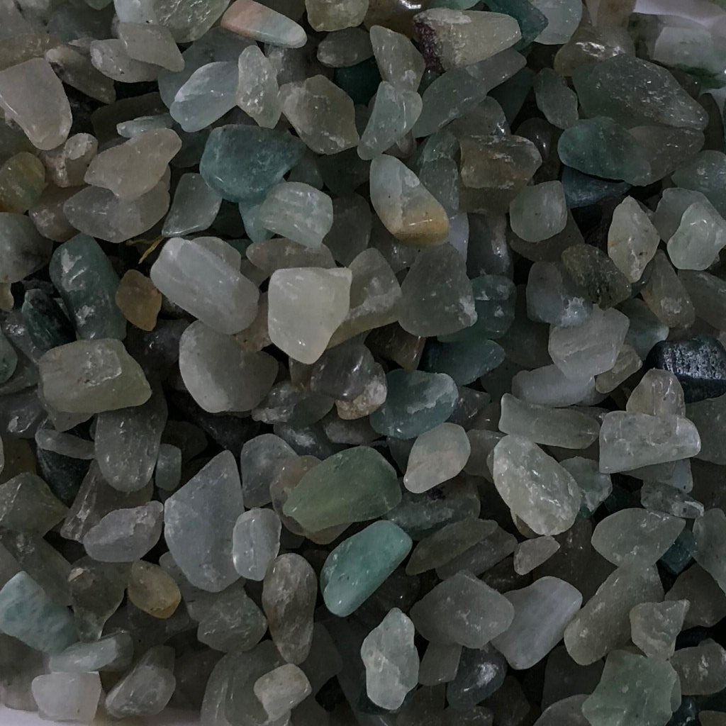 Crystal Chips- Green Aventurine