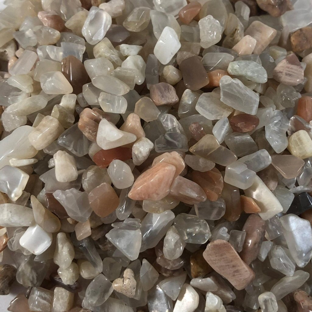 Crystal Chips- Light mixed gemstones