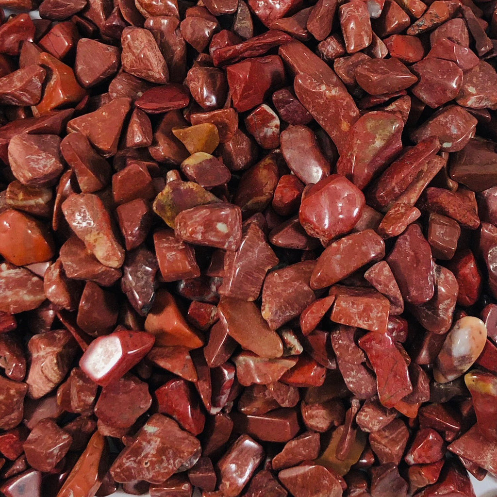 Crystal Chips- Red Jasper