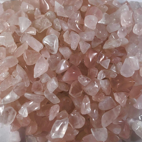 Crystal Chips- Rose Quartz