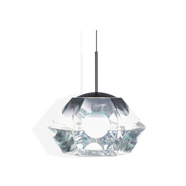CUT SHORT PENDANT CHROME - Fine Bone Luxury Living
