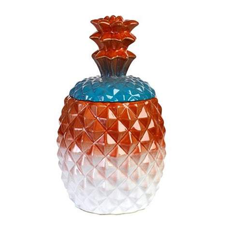 PINEAPPLE JAR MULTI RED