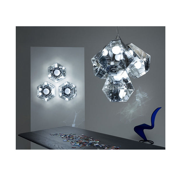 CUT SURFACE LIGHT CHROME IP44 - Fine Bone Luxury Living
