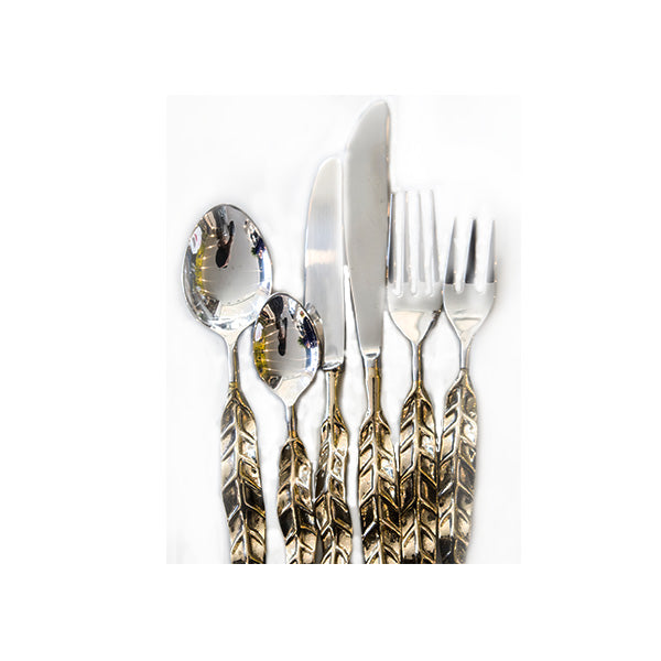GOLDEN LEAF CUTLERY