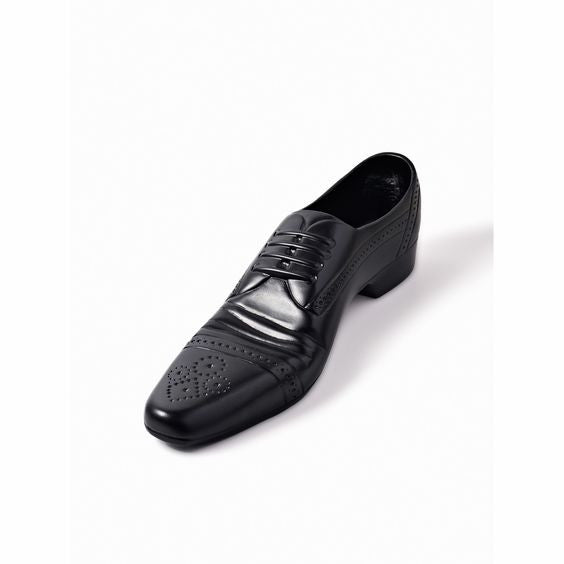CAST SHOE BLACK - Fine Bone Luxury Living