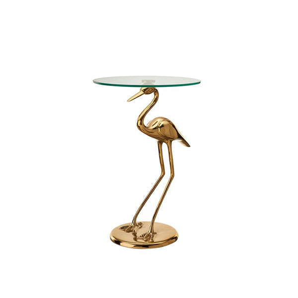 CRANE SIDE TABLE - Fine Bone Luxury Living