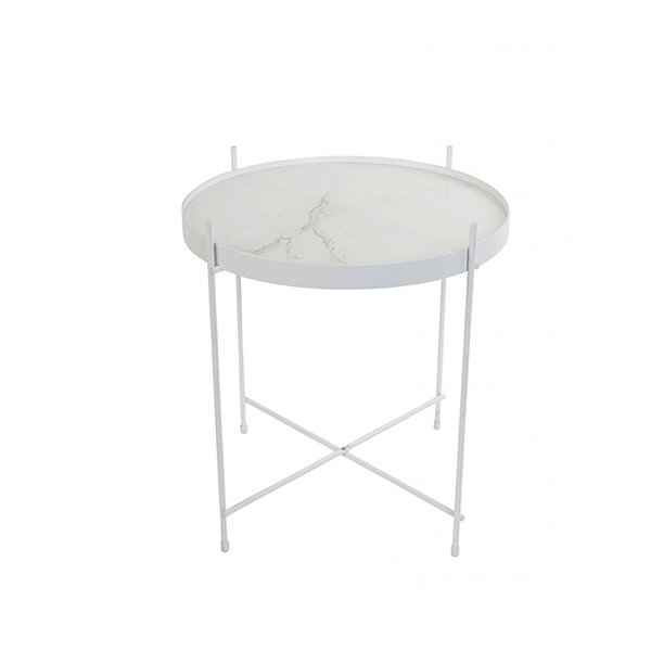 CUPID MARBLE SIDE TABLE - Fine Bone Luxury Living