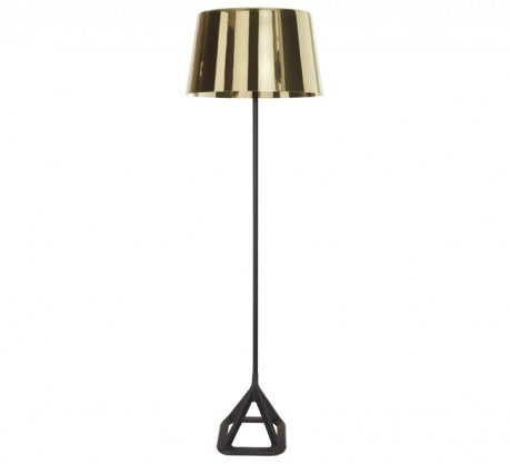 BASE POLISHED BRASS FLOOR LIGHT - Fine Bone Luxury Living
