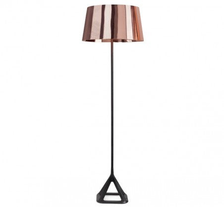 BASE COPPER FLOOR LIGHT - Fine Bone Luxury Living