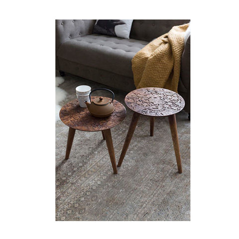 BY HAND SIDE TABLE L - Fine Bone Luxury Living