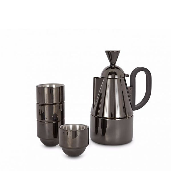 BREW STOVE BLACK SET - Fine Bone Luxury Living