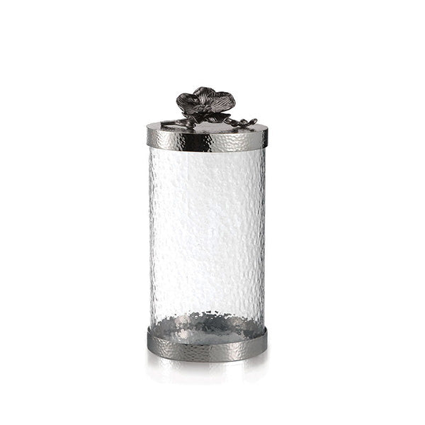 CANISTER M BLACK ORCHID - Fine Bone Luxury Living