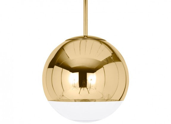 MIRROR BALL GOLD 25CM