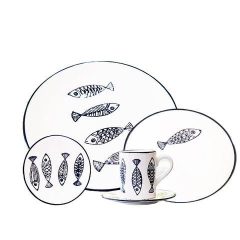 POISSON  SET OF 30 - Fine Bone Luxury Living