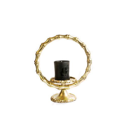 CANDLEHOLDER BAMBOO S - Fine Bone Luxury Living