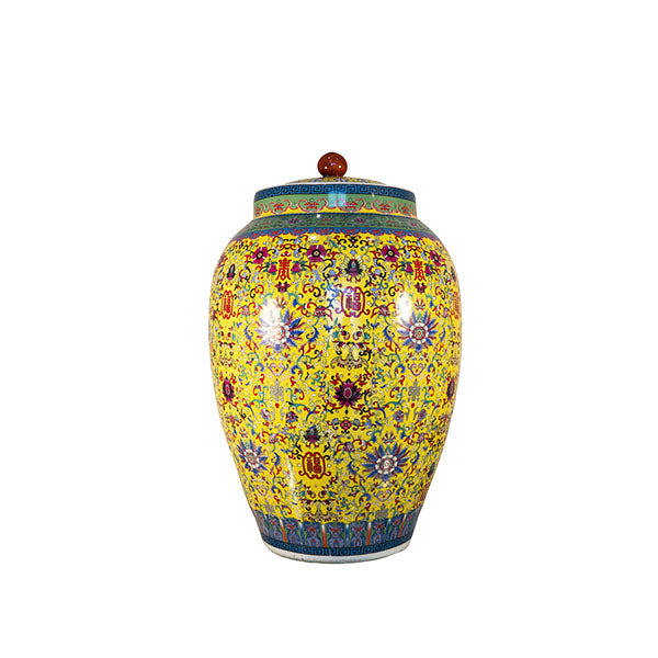 QIANLONG YELLOW JAR