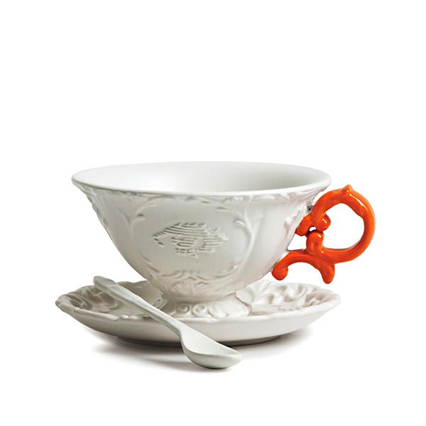 I-WARES TEA CUP ORANGE