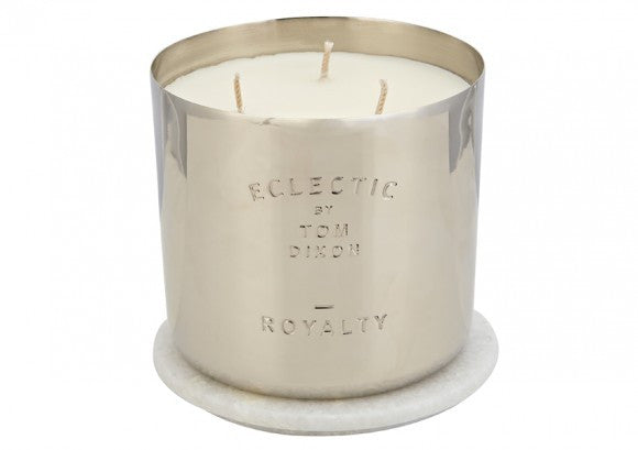 ROYALTY SCENTED CANDLE LARGE - Fine Bone Luxury Living