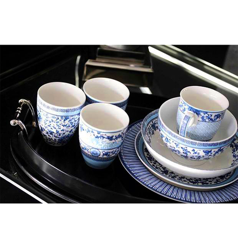 TABLEWARE BLUE HEAVEN SET OF 5