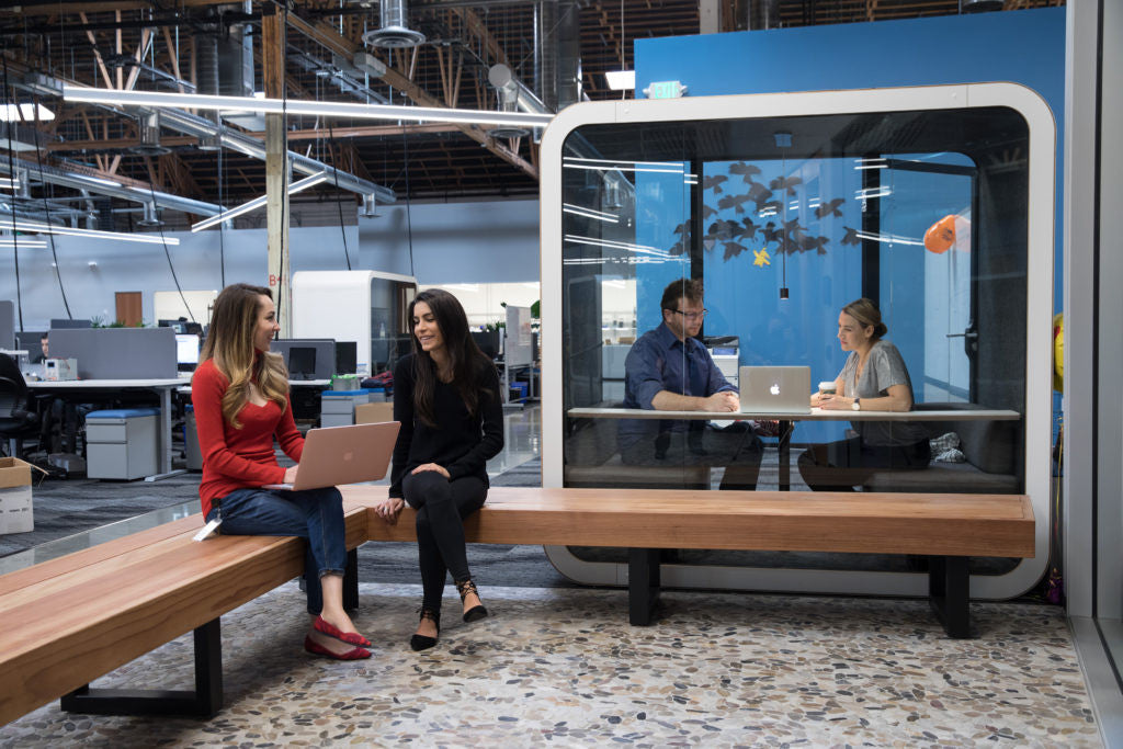 Microsoft replacing a third of their phone rooms with Framery booths